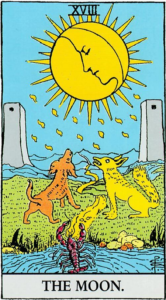 קלף הירח בסדרת הקלפים של ריידר