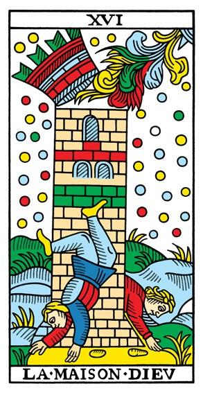 קלף המגדל בחפיסת הקלפים מרסיי CBD