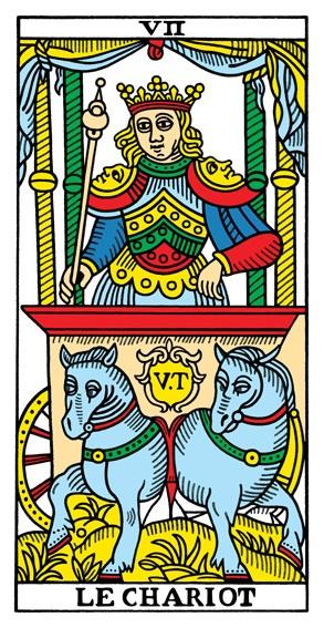 קלף המרכבה בקלפים של מרסיי CBD