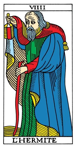 קלף הנזיר בקלפים של מרסיי CBD