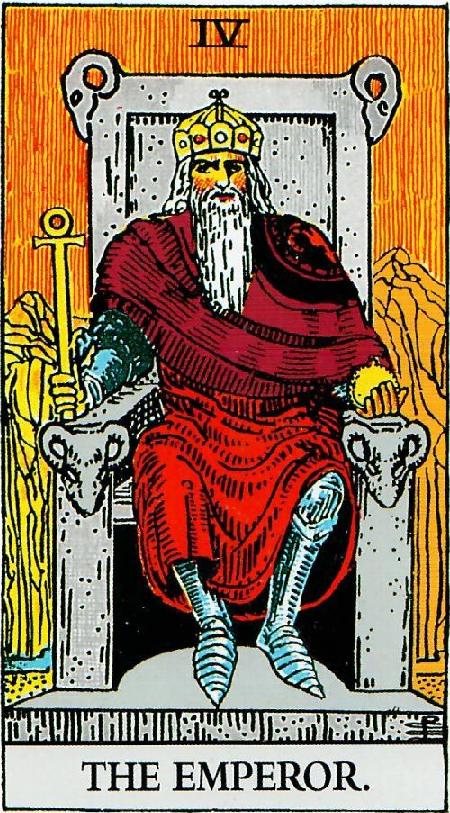 קלף הקיסר בקלפי ריידר