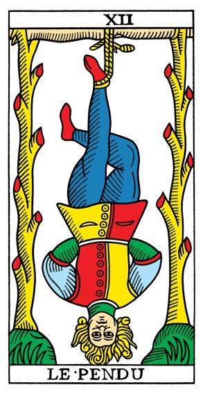 קלף התלוי בחפיסת הקלפים של מרסיי CBD