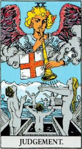 קלף יום הדין בקלפים של ריידר