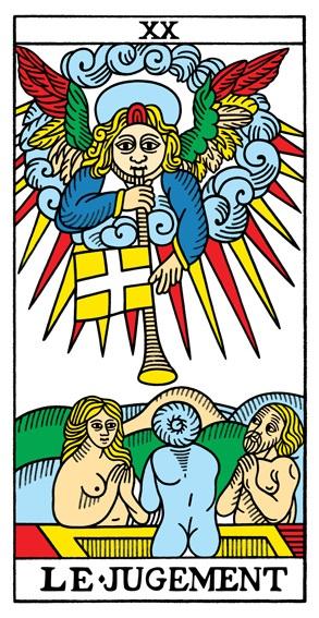 קלף יום הדין בקלפים של מרסיי