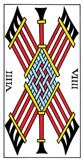 קלף תשעה מטות בקלפים של מרסיי CBD