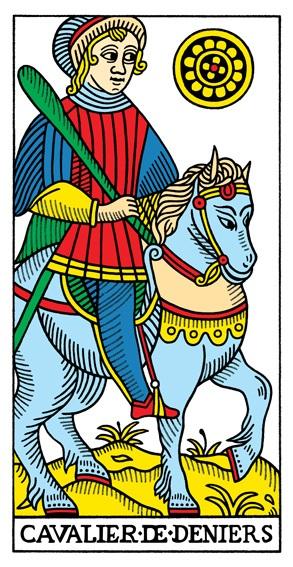קלף אביר המטבעות בקלפים של מרסיי CBD
